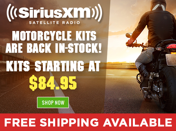 SiriusXM Radio Motorcycle Bundles